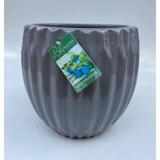 39cm Larsson Egg Pots - Grey