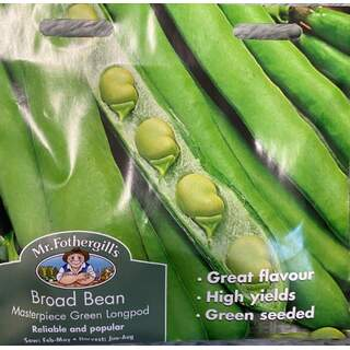 UK/FO-BROAD BEAN Masterpiece Green Longpod