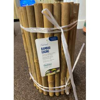 GM Bamboo Edging Roll 0.30m x 1m