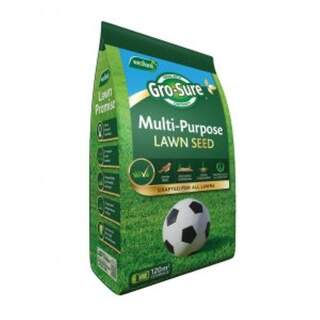 Gro-sure Multi Purpose Lawn Seed 120m2
