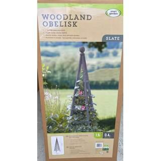 Large Woodland Obelisk - Slate 1.9m