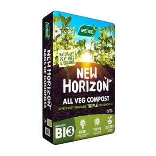 New Horizon Vegetable Growing Compost 50L