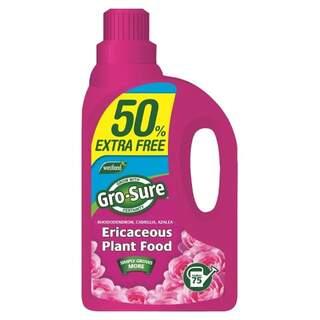 Gro-Sure Ericaceous Plant Food Liquid - 1L + 50% Extra free