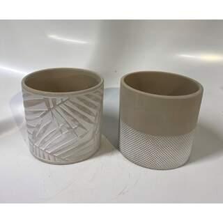 Houseplant Pot 13cm - Sand Mix