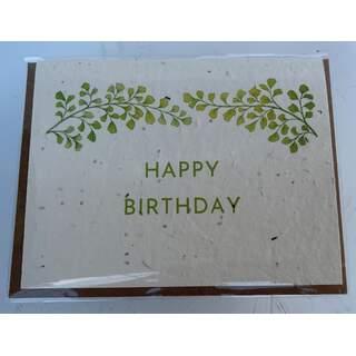 Happy Birthday Botanical Card