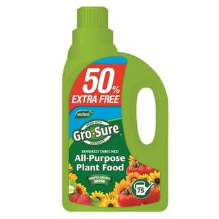 Gro-Sure Super Enriched All Purpose Plant Food - 1L + 50% Extra free