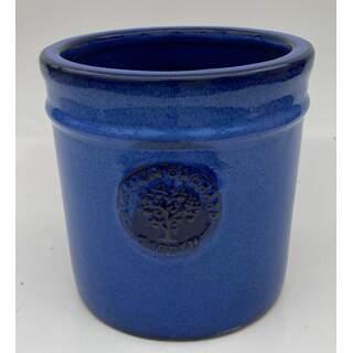 20cm Blossom Cylinder Blue