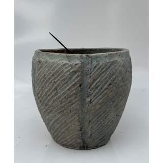 19cm Twill Pot - Green