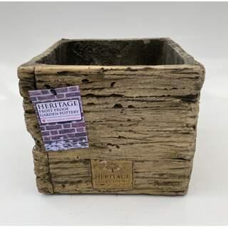 19cm Heritage Oak Pot - Plated
