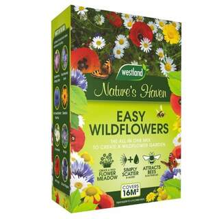 Natures Haven Easy Wildflower Mix Box 4 Kg