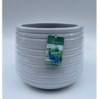 16cm Larsson Tall Rounds - White