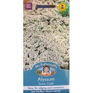 UK/FO-ALYSSUM Snow Cloth