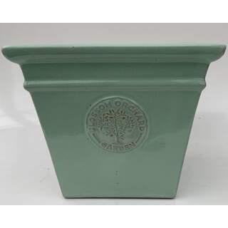 30cm Blossom Square Green