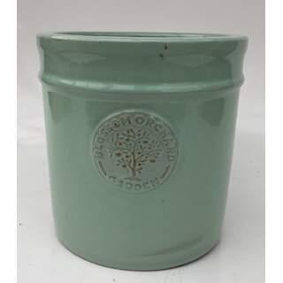 38cm Blossom Cylinder Green